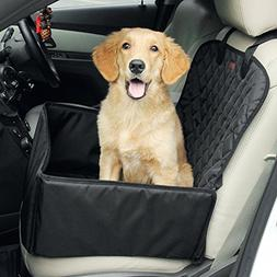 2-In-1 Waterproof Dog Booster Seats  Front Seat Covers for V