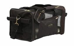 Sherpa 11771 The Ultimate Pet Carrier, Medium, Black with Bl