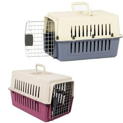 "VILOBOS 16"" Small Cat Dog Carrier Travel Cage Portable Crate"