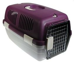 19 Inch Plastic Pet Taxi Travel Cat Carrier / Small Dog Kenn