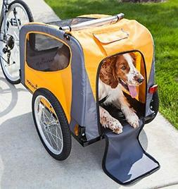 2 in 1 Bicycle Pet Trailer Stroller Carrier Dog Wagon Pet Tr