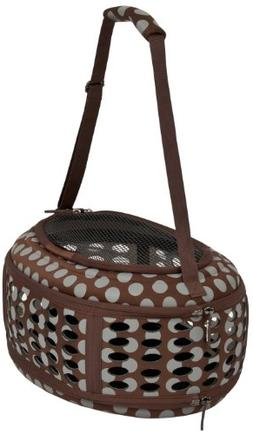 Petmate 21789 Curvations Underseat Small Pet Traveler with D