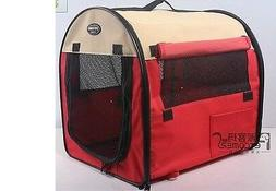 """27"""" Pet Dog/Cat Carrier Travel Bag Crate Tent Cage Folding w"""