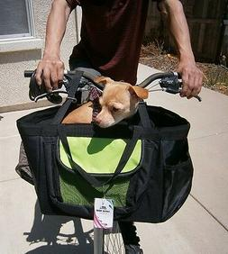 3-in-1 Pet Dog Puppy Bicycle Basket & Car Seat & Hand Carrie