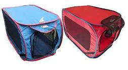 """32"""" Dog Kennel Portable Folding Pet House Crate Cage Carrier"""