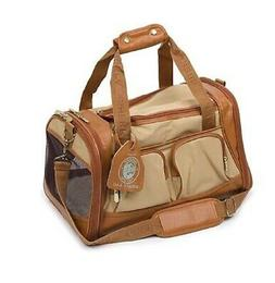 Sherpa 66237 Amelia Pet Carrier, Medium, Tan with Sand Trim