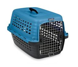 PETMATE INC - CARRIERS 41040 COMPASS KENNEL BLUE/BLACK 24 IN