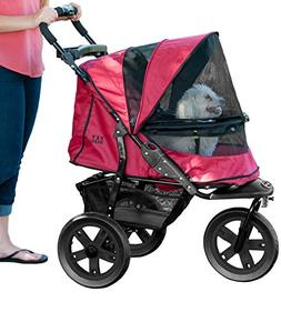 Pet Gear No-Zip AT3 Pet Stroller, Zipperless Entry, Rugged R