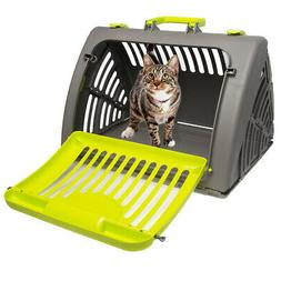 Pet Solutions Collapsible Pet Carrier For Cats Small Dogs Up