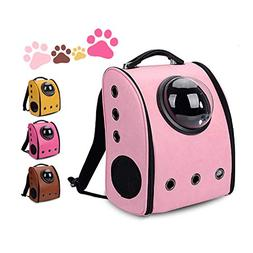 Travel Accessory Feather Space Capsule Transport Dog Bag for