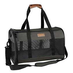 Akinerri Airline Approved Pet Carriers,Collapsible Soft Side