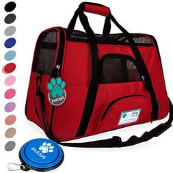 Premium Airline Approved Soft-Sided Pet Travel Carrier by Pe