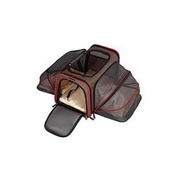 ALEKO Heavy Duty Expandable Travel Pet Carrier Airline Appro