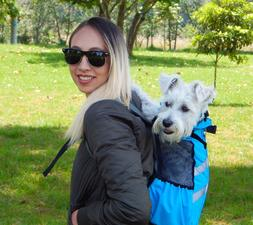 MorralPET BACKPACK Carrier Dog Cat Sport Cycling Motorcycle