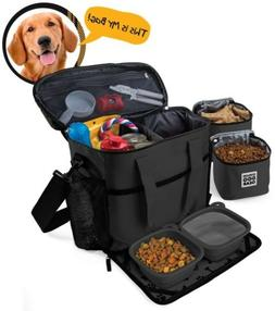 Dog Travel Bag - Week Away Tote For Med And Large Dogs - Inc