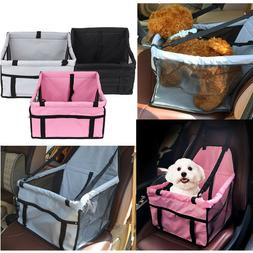 Belt Booster Travel Carrier Portable Dog Car Seat Folding Ba