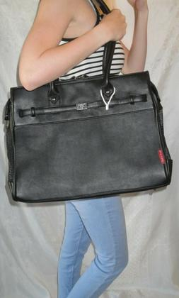 BARK N BAG Black Monaco Small Dog Tote,Pet Carrier,Puppy Tra