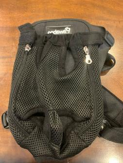 PAWABOO Black Pet Carrier Backpack Adjustable Pet Front Dog