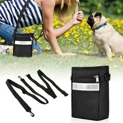 Black Pet Dog Puppy Cat Pouch Snack Bag Dog Training Food Tr