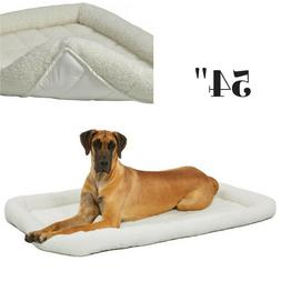 BRAD-468275-MidWest Deluxe Bolster Pet Bed for Dogs & Cats