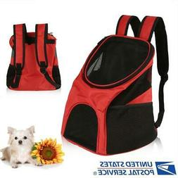 Breathable Pet Dog Carrier Double Shoulder Bag Puppy Cat Tra