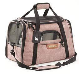 Premium Pet Travel Carrier, Airline Approved, Soft-Sided, Co