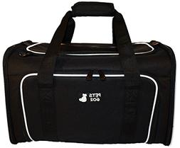 PETS GO2 Pet Carrier for Dogs & Cats - Airline Approved Prem