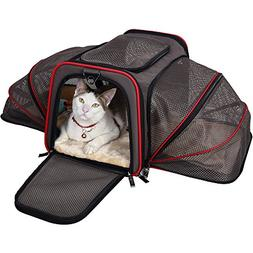 cat carrier expandable dog