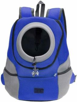 Cat Dog Backpack Carrier Puppy Pet Front Pack Outdoor Travel