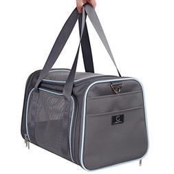 A4Pet Collapsible Pet Carrier for Cat and Puppy, Airline App