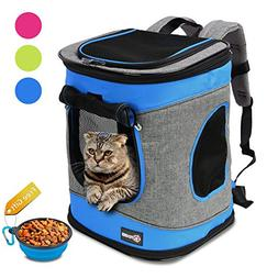 Pawsse Comfort Pet Carrier Backpack for Cats and Dogs up to
