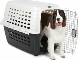 Petmate Fashion Compass Kennel 32 Inch Met White-Black 41034