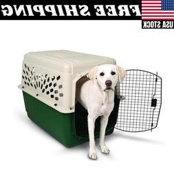 CRATE LARGE DOG PET Portable Safe Travel Carrier Puppy Cat C