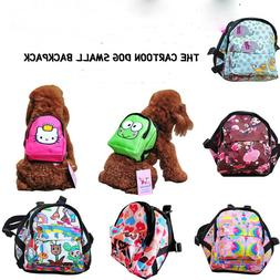Cute Dog Backpack & Leash Pet Bag Travel Carrier Outdoor Pup