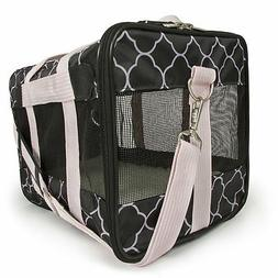 Sherpa Original Deluxe Pet Carrier Black/Pink, Medium, Black