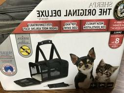 Sherpa Deluxe Pet Carrier Small Up To 8 Lbs Gray Guaranteed