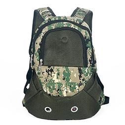 Legendog Dog Backpack Carrier, Dog Travel Backpack Camouflag