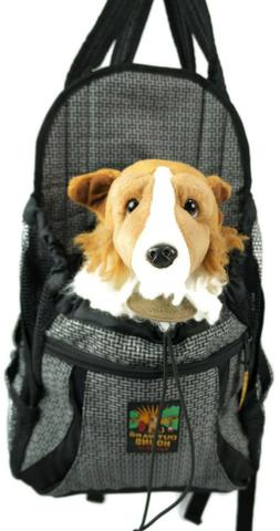 OUTWARD HOUND Dog Backpack Carrier Water Food Walking Hiking