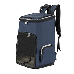 SlowTon Dog Backpack Pet Carrier Bag, Fit for Pets Up to 20l