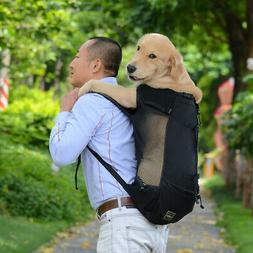 Pet Dog Backpack for Large Medium Small Dogs Breathable Trav