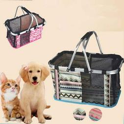 dog bag for small dogs Foldable Portable Outdoor Pet Dog Car