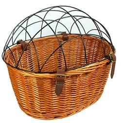Dog Basket for Bike Bicycle Front Pet Cat Carrier Cage Willo