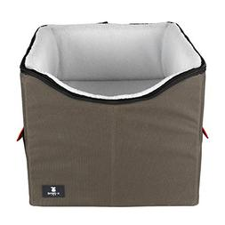 X-ZONE PET Dog Booster Car Seat/Pet Bed at Home, with Pocket