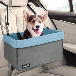 JESPET Dog Booster Seats for Cars, Portable Dog Car Seat Tra