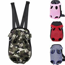 Dog Carrier Backpack Lightweight Mesh Camouflage Colorful Tr