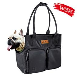 Dog Carrier Bag Puppy Cat Travel Outdoor Carrier Tote Bag Bl