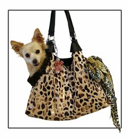 Dog Carrier Handbag Pet Purse Pouch tote Dogs up to 15 LBS S