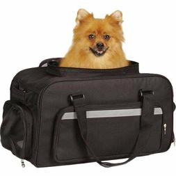 Dog Carrier-On The Go Tote/ Airline Pet Carry On Bag/ Black-