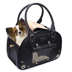 PetsHome Dog Carrier Purse, Pet Carrier, Cat Carrier, Foldab