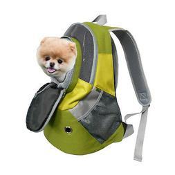 Dog Cat Carrier Mesh Outdoor Backpack Puppy Travel Bag Pet K